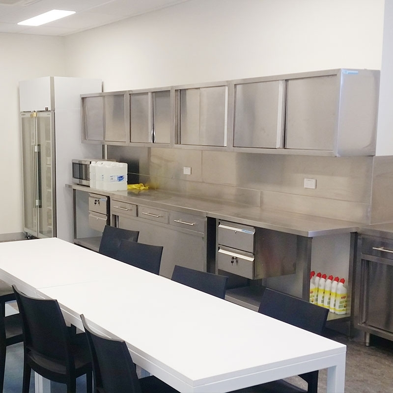 Stainless Steel Commercial Kitchen Wall Cabinet, 1200 x ...